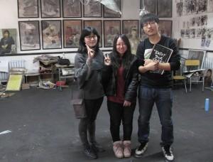 Na Ren Hua, Pao Pao and a friend
