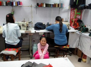 There are tailor shops there too, ready to make on-the-spot alterations