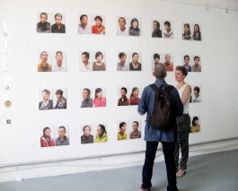 Suzanna discusses her pairings of faces taken from portrait studies